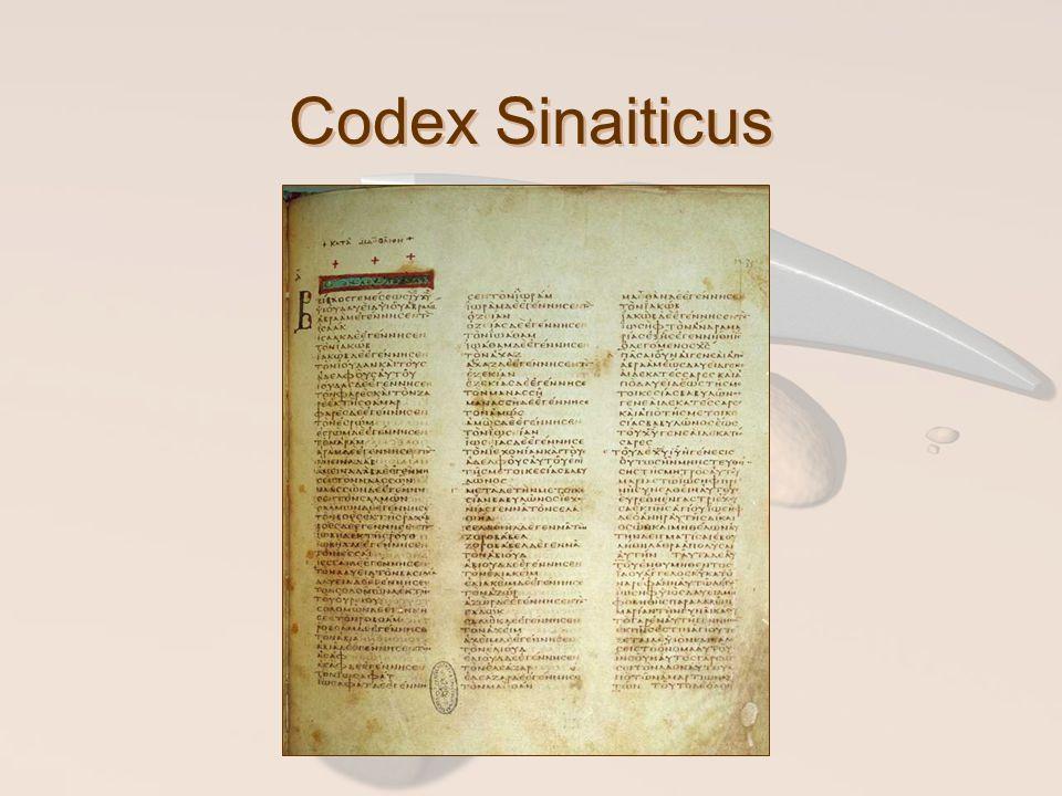 Codex Sinaiticus