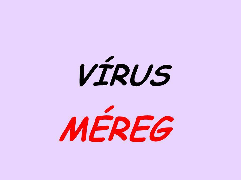VÍRUS MÉREG