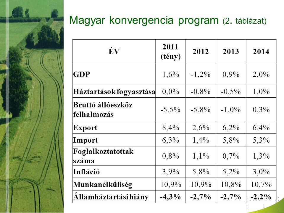 Magyar konvergencia program (2.