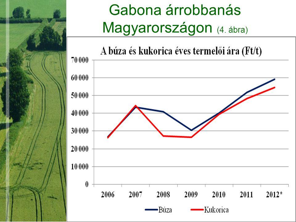 Gabona árrobbanás Magyarországon (4. ábra)