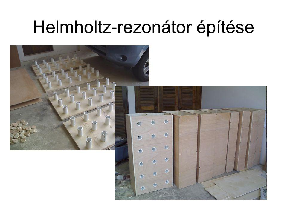 Helmholtz-rezonátor építése