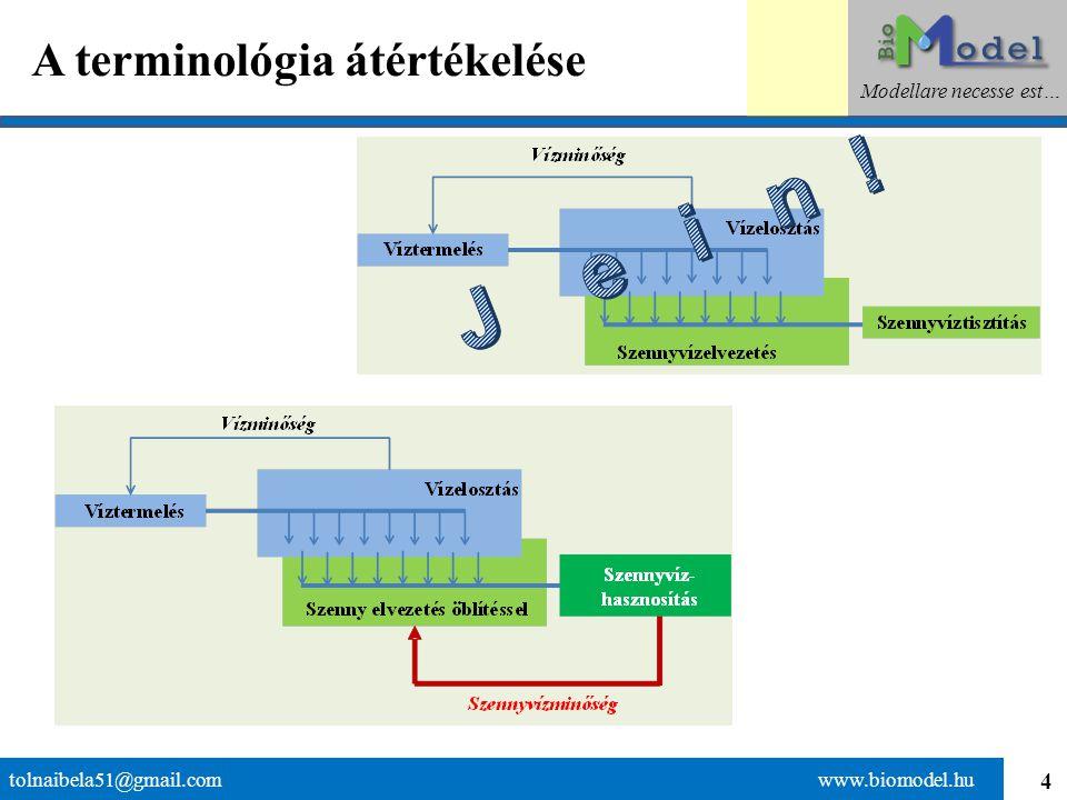 4 A terminológia átértékelése tolnaibela51@gmail.com www.biomodel.hu Modellare necesse est…