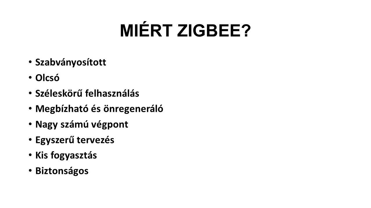 MIÉRT ZIGBEE.