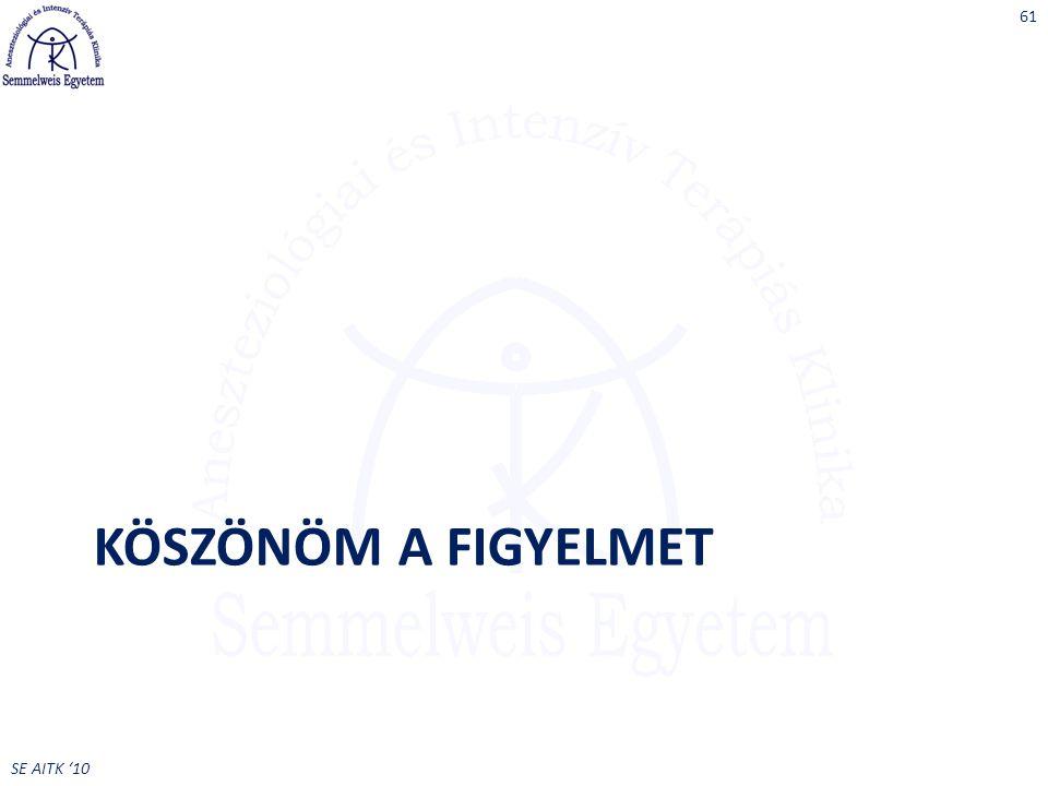 SE AITK '10 KÖSZÖNÖM A FIGYELMET 61