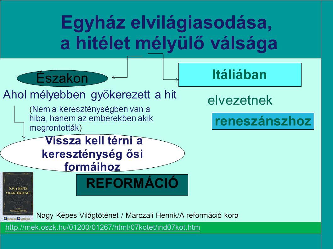 A REFORMÁCIÓ IRÁNYZATAI *Tk.Sz-2012/15.old.10: Gyűjtse össze a reformáció szinte minden irányzatára jellemző, közös jegyeket.