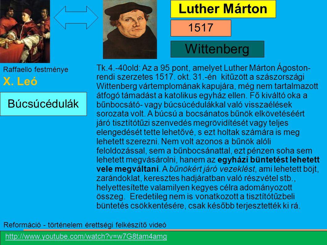 A reformáció és a katolicizmus elterjedése a XVI-XVII. században