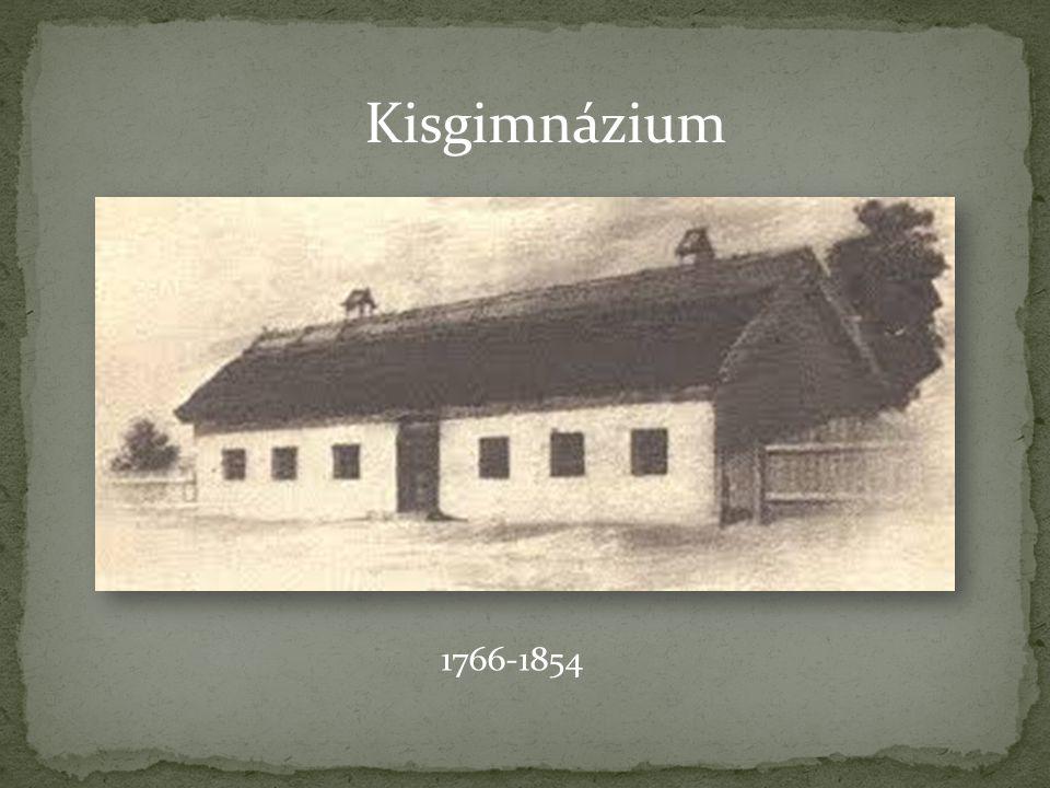 Kisgimnázium 1766-1854
