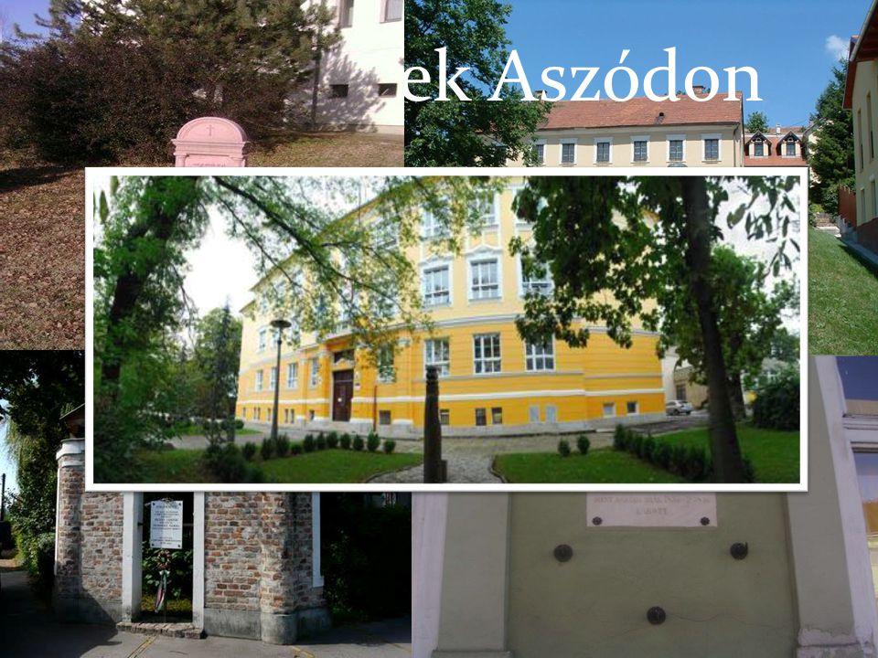 Petőfi helyek Aszódon