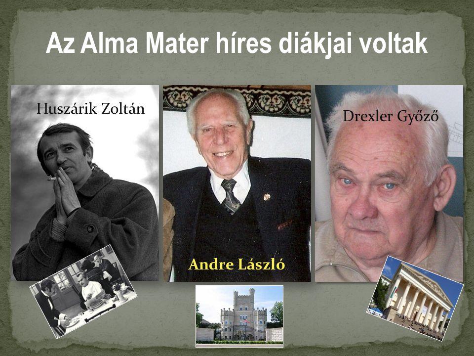 Az Alma Mater híres diákjai voltak Huszárik Zoltán Andre László Drexler Győző