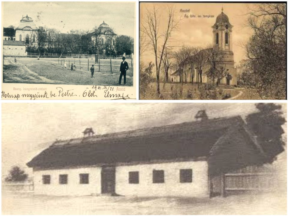 Podmaniczky JánosOsztroluczky Judit Barokk kastély Evangélikus templom Iskola építése