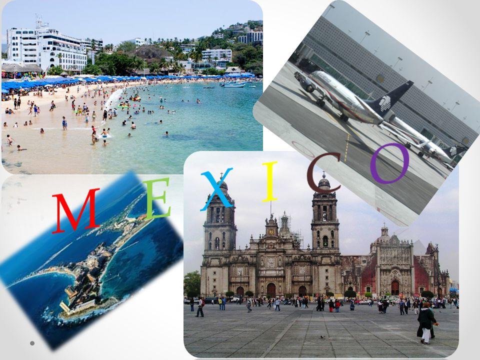 Turizmus Mexikó két legforgalmasabb nemzetközi repülőtere a mexikóvárosi Benito Juárez és a cancúni. Az országon belül az autóbusz a tömegközlekedés l