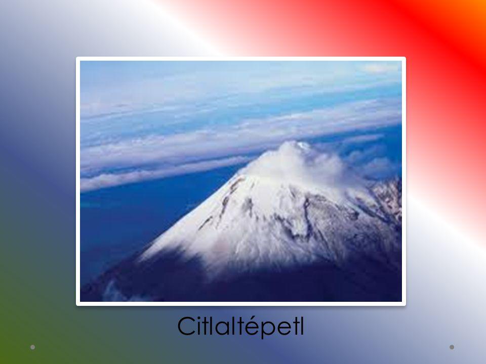 Működő tűzhányók Popocatépetl