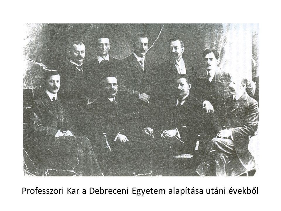 A Tisza István Tudományegyetem Földrajzi Intézetének meghatározó oktatói 1914-1945 között Dr.