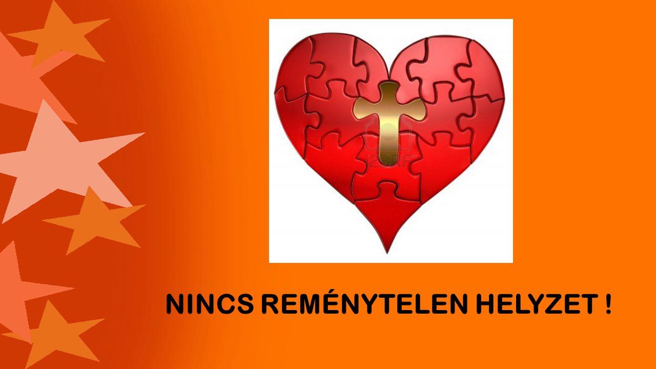 NINCS REMÉNYTELEN HELYZET !