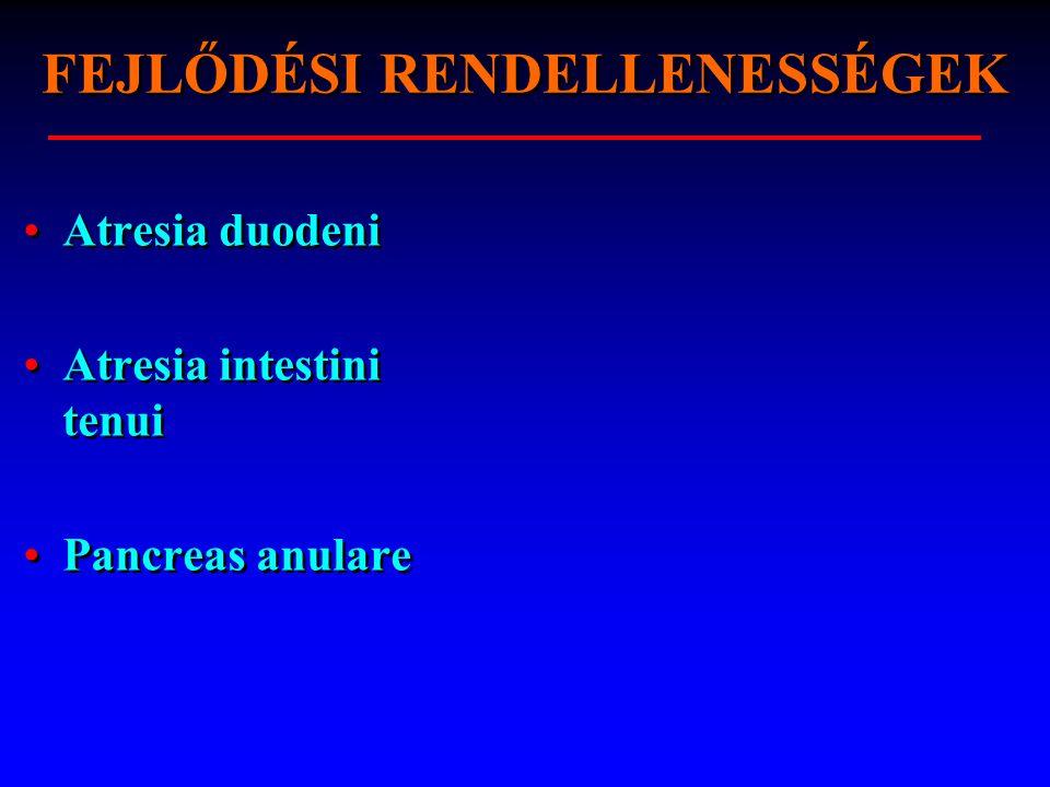 FISTULA INTESTINI TENUI Oka: trauma spontán (gyulladás, tumor) műtét (insuffitientia), drain jelez fajtái: külső, belső Dg: bélsárcsorgás, fistulographia Th: konzervatív, majd műtét Oka: trauma spontán (gyulladás, tumor) műtét (insuffitientia), drain jelez fajtái: külső, belső Dg: bélsárcsorgás, fistulographia Th: konzervatív, majd műtét