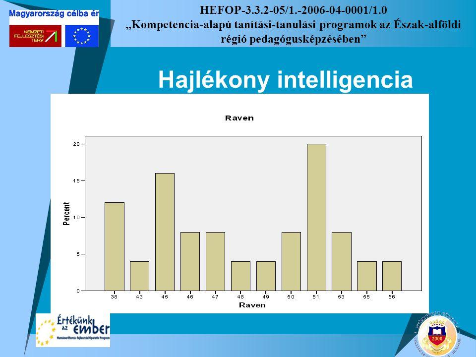 """HEFOP-3.3.2-05/1.-2006-04-0001/1.0 """"Kompetencia-alapú tanítási-tanulási programok az Észak-alföldi régió pedagógusképzésében"""" Hajlékony intelligencia"""