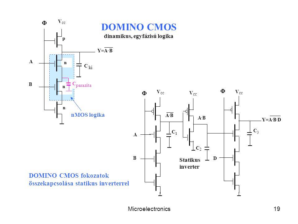 Microelectronics19 C parazita V cc Y=A.