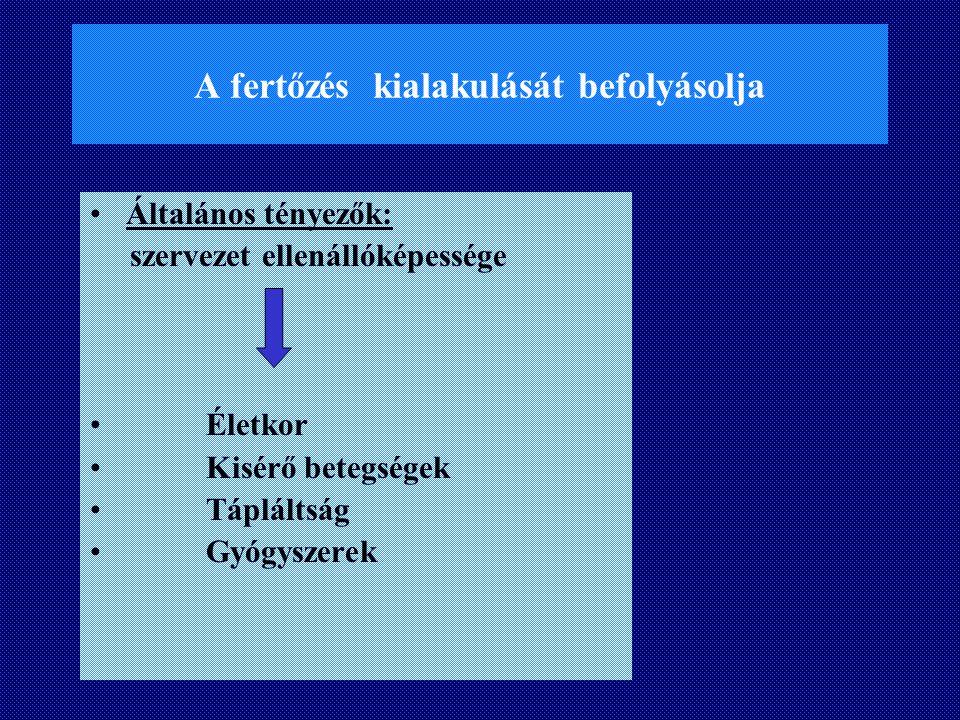 Tetanus Kórokozó: Clostridium tetani anaerob spórás Seb: anaerob körülmények  szaporodik toxint termel Tetanospasmin  görcsök Tetanolysin  haemolysis Neurotoxin  cardiotoxicus