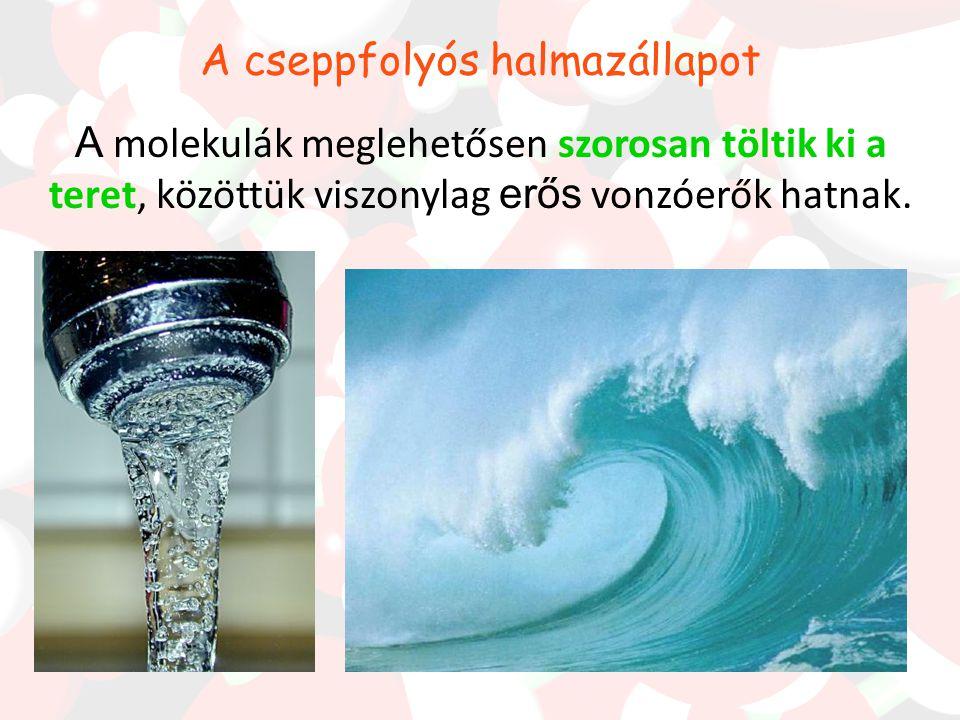 Jégben, a vízmolekulákat olyan erős kölcsönhatások tartják össze, amelyek ellenállnak az alak- és térfogat változtató erőknek, a tér minden irányában