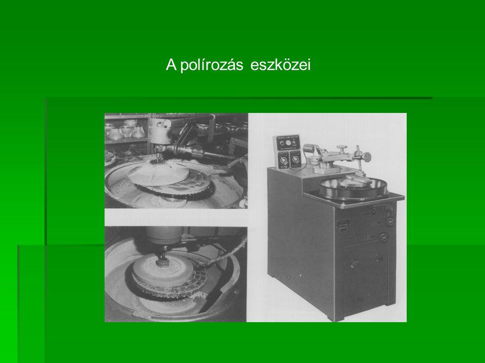 A polírozás eszközei