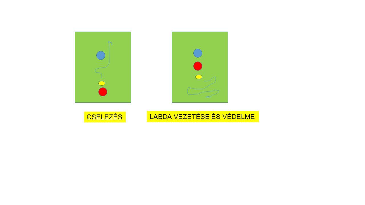 Egyéni célkitűzések/fejlesztés Jó alkalmazott technika kifejlesztése: az által, hogy palástolni tudja a szándékait és elsajátítja a tér- és időkezelés képességét, a játék igényeinek megfelelően tud bánni a labdával és meg tudja azt szerezni az ellenféltől Az egyéni taktikus gondolkodásmód fejlesztése Mi a probléma.