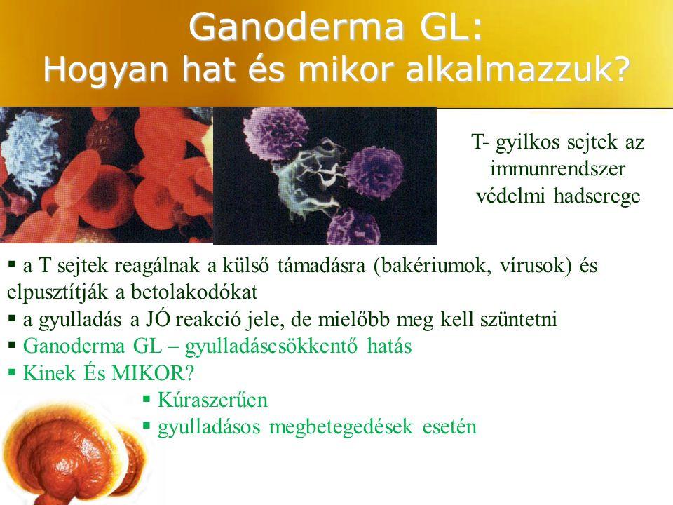 T- gyilkos sejtek az immunrendszer védelmi hadserege Ganoderma GL: Hogyan hat és mikor alkalmazzuk?  a T sejtek reagálnak a külső támadásra (bakérium