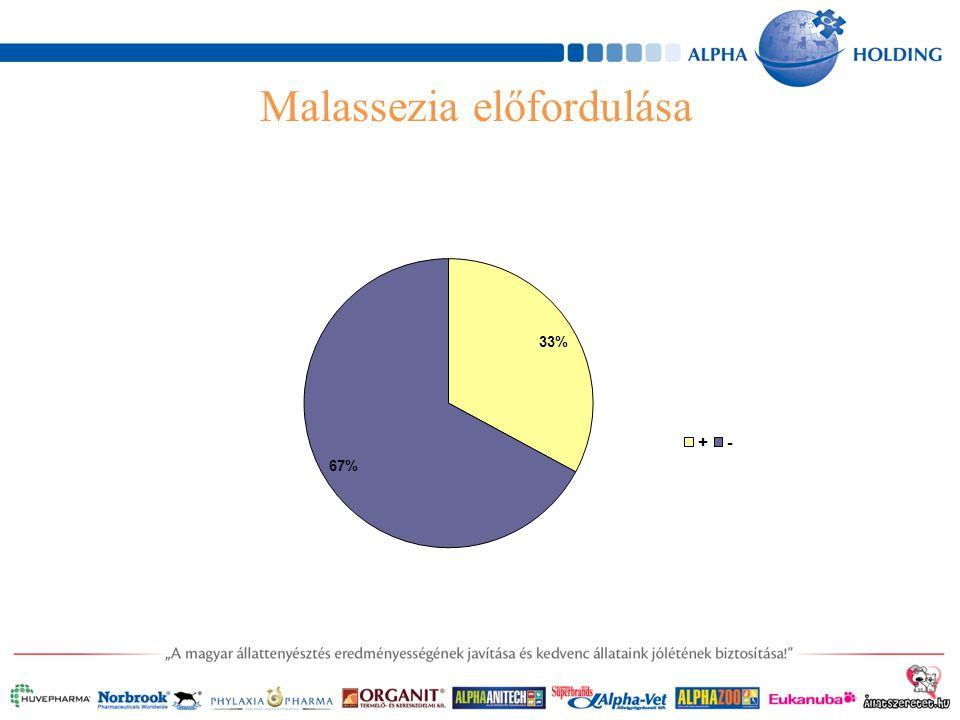 Malassezia előfordulása