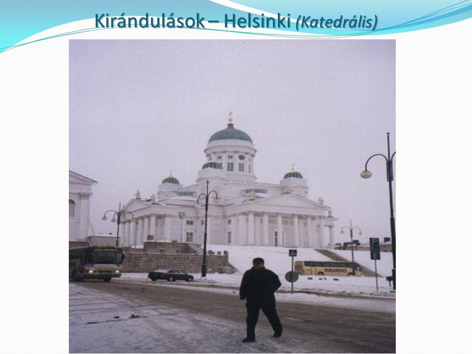 Kirándulások – Helsinki (Katedrális)