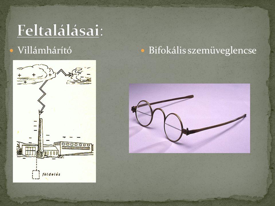 Villámhárító Bifokális szemüveglencse