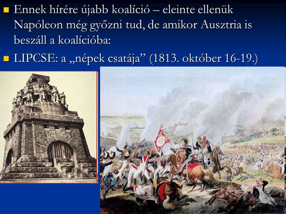 A lipcsei csata, Napóleon első nagy kudarca.