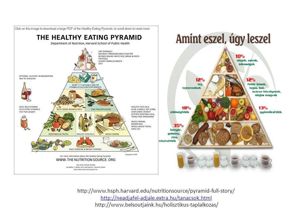 http://www.hsph.harvard.edu/nutritionsource/pyramid-full-story/ http://neadjafel-adjale.extra.hu/tanacsok.html http://www.belsoutjaink.hu/holisztikus-