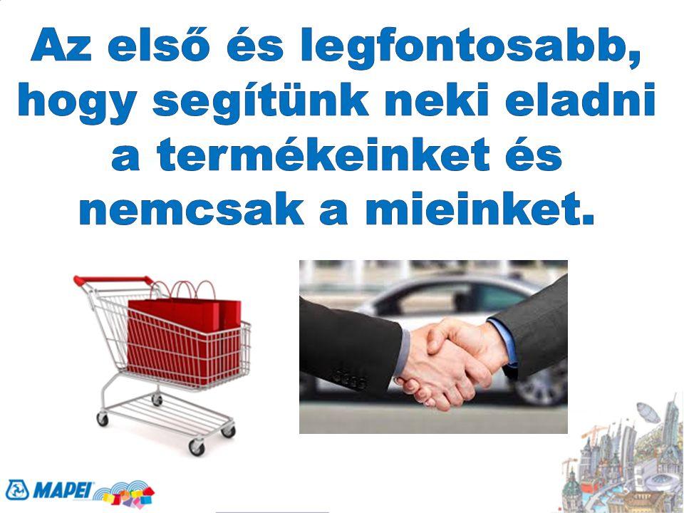 Nagyon egyszerű, az eladókat nem túlterhelő kampányokat szervezünk, amelyekkel a végfelhasználókat, leginkább a szakembereket becsábítjuk az üzletekbe, hogy vásároljanak.