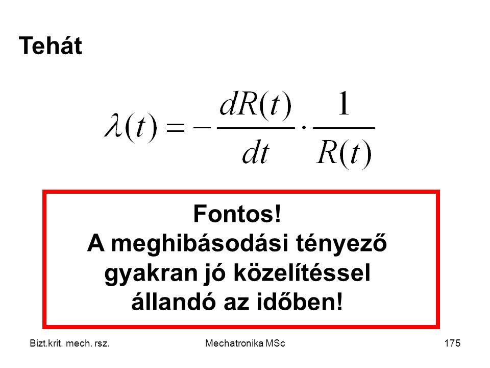 Bizt.krit.mech. rsz.Mechatronika MSc175 Tehát Fontos.