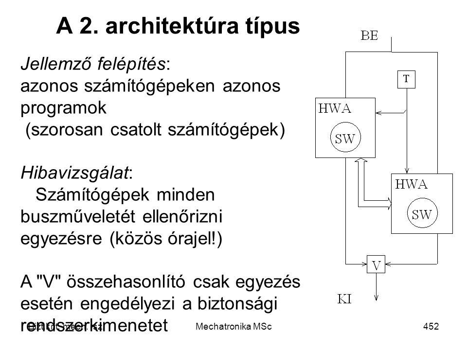 Bizt.krit.mech. rsz.Mechatronika MSc452 A 2.
