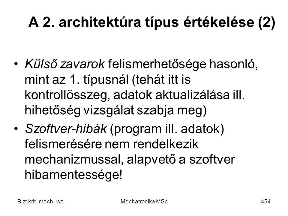 Bizt.krit.mech. rsz.Mechatronika MSc454 A 2.