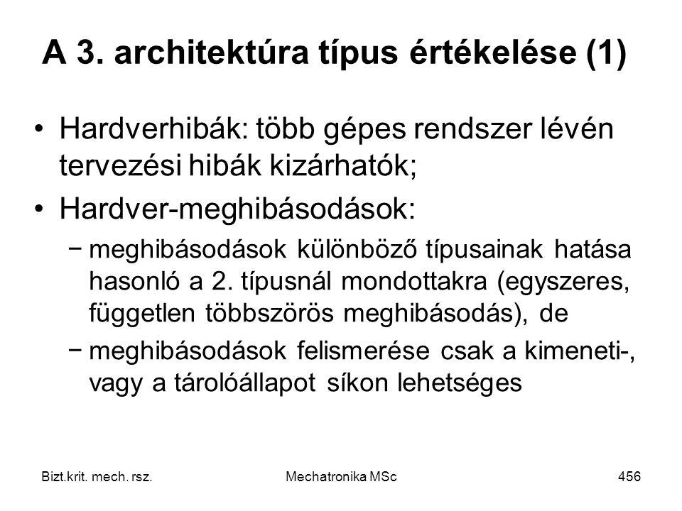 Bizt.krit.mech. rsz.Mechatronika MSc456 A 3.