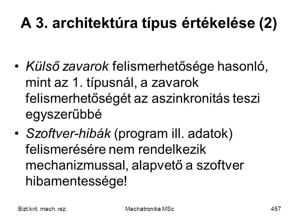 Bizt.krit.mech. rsz.Mechatronika MSc457 A 3.