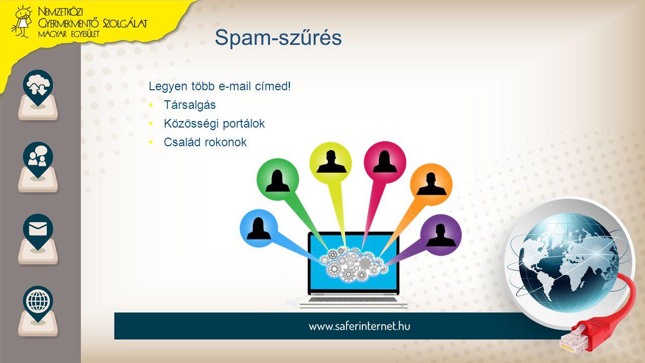 Legyen több e-mail címed! Társalgás Közösségi portálok Család rokonok