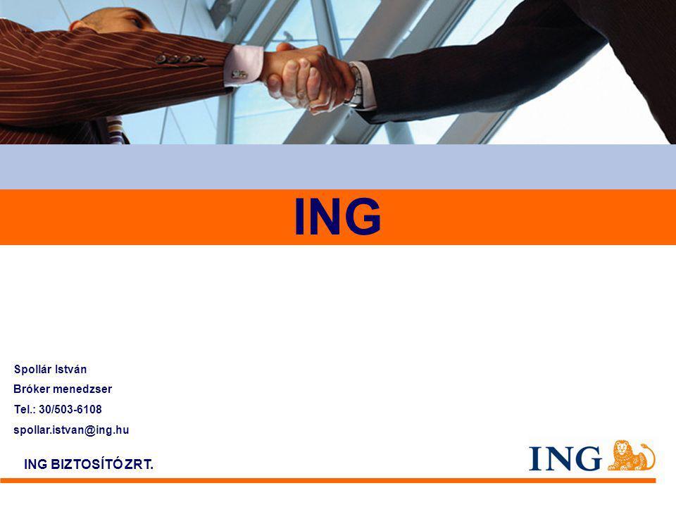 2 Az ING Csoport a világban 100 000 munkatárs –85 millió ügyfél – több mint 40 országban 100 000 munkatárs – 85 millió ügyfél – több mint 40 országban