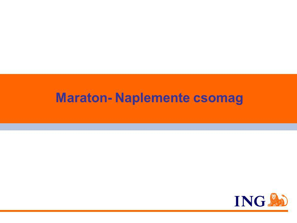Maraton- Naplemente csomag