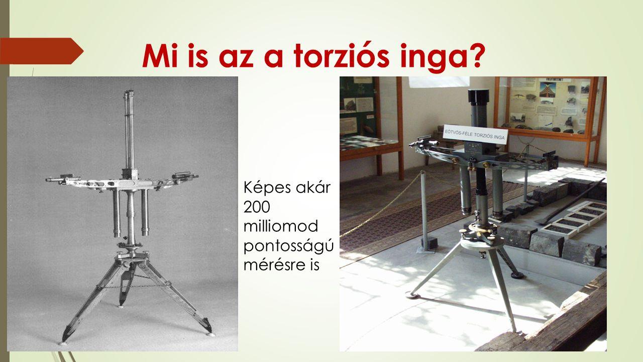 Mi is az a torziós inga? Képes akár 200 milliomod pontosságú mérésre is