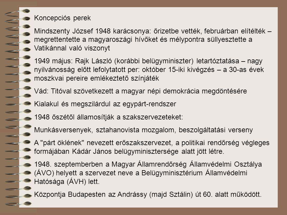 Koncepciós perek Mindszenty József 1948 karácsonya: őrizetbe vették, februárban elítélték – megrettentette a magyaroszági hívőket és mélypontra süllye