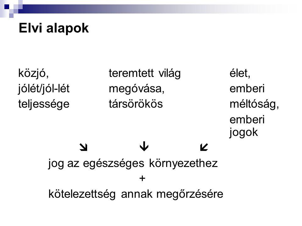 Környezethez való jog és Magyarország Az 1976.évi II.