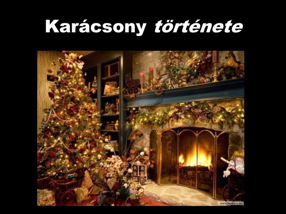 A magyar Karácsony szó jelentése szláv eredetű, a szláv korcsun szóból ered, amely lépőt, átlépőt jelent.