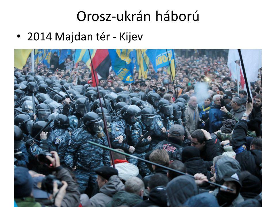 Orosz-ukrán háború 2014 Majdan tér - Kijev