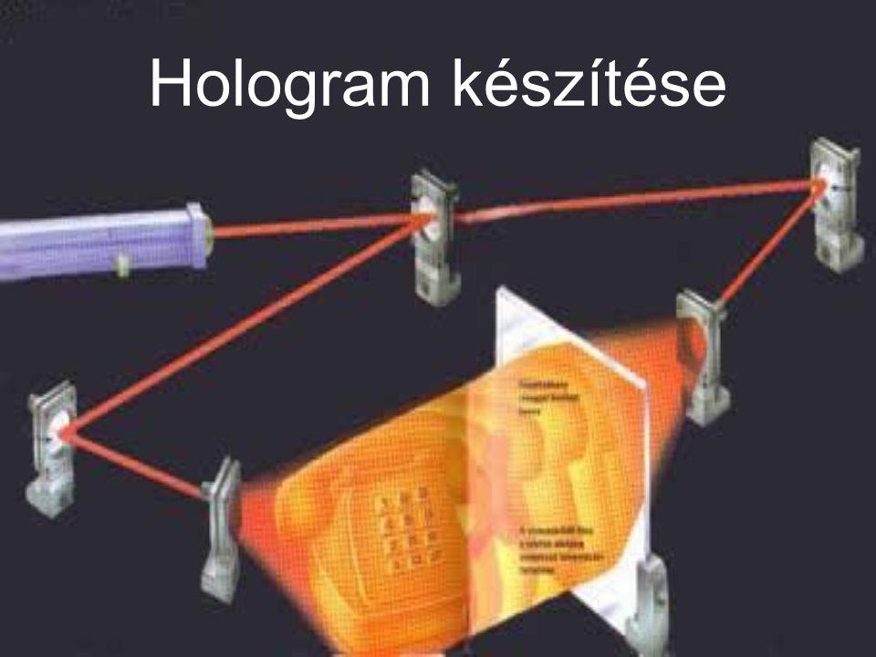 A holográfia alkalmazási területei A hologramok legelterjedtebb alkalmazási formájával, a biztonsági azonosító jelekkel mindenki találkozhat a kazettákon és CD-ken vagy az új papírpénzeken, bankkártyákon.