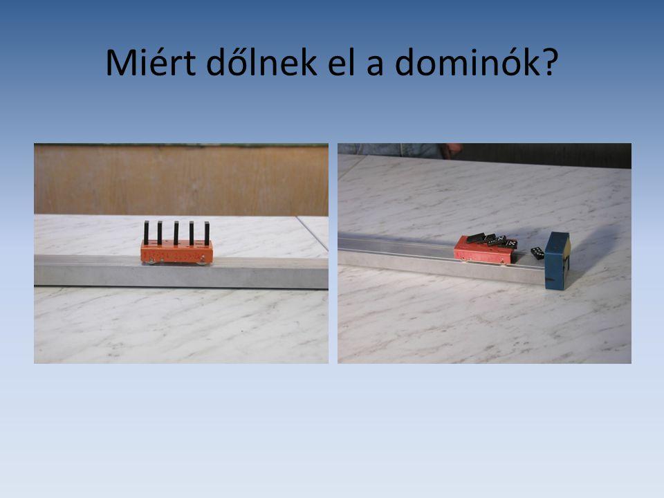 Miért dőlnek el a dominók?