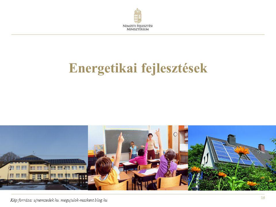 16 Energetikai fejlesztések Kép forrása: ujnemzedek.hu.megujulok-maskent.blog.hu