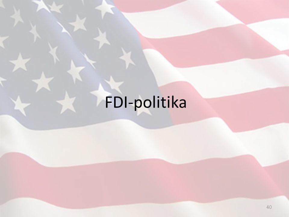 FDI-politika 40