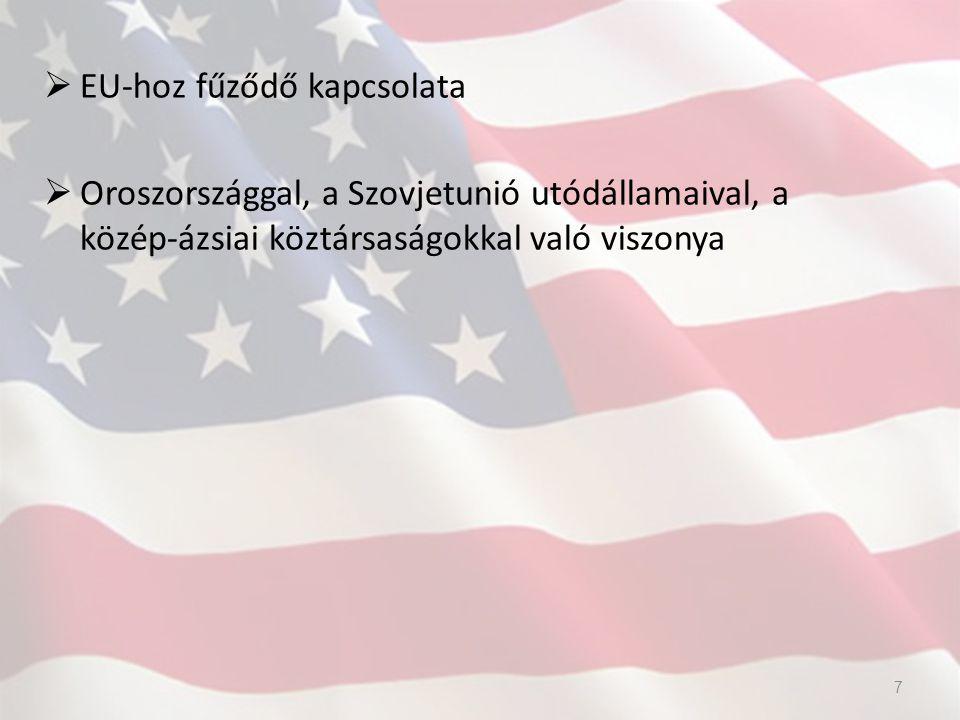 USA külkereskedelme Irán felé 1995 óta van embargó, a mai napig érvényes minden kereskedelmi kapcsolatot megtilt Kivéve: 100 dollár alatti ajándéktárgy, szőnyeg, élelmiszer ok: Irán terroristabarát hozzáállása De az USA teljes importjának mindegy 2/3-a gyakorlatilag vámmentesen érkezik be az országba.